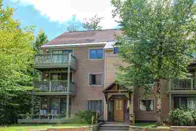 Cambridge Condo/Townhouse For Sale: 21 Villmarksauna 21 At Smugglers Notch Resort