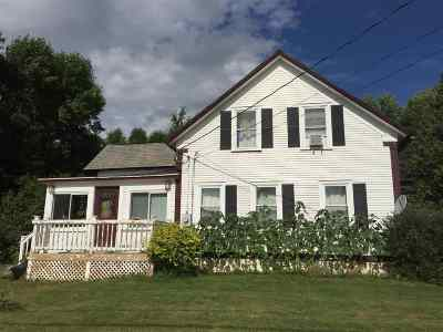 Grand Isle Single Family Home For Sale: 271 Us Rt 2