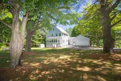 Stowe Single Family Home For Sale: 392 River Road