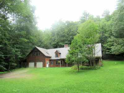 Chittenden Single Family Home For Sale: 31 River Road