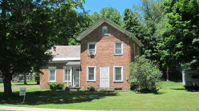 Poultney Single Family Home For Sale: 1421 East Main Street Road