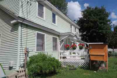 Montpelier Single Family Home For Sale: 2 Peck Place