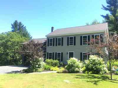 Wolcott VT Single Family Home For Sale: $399,000