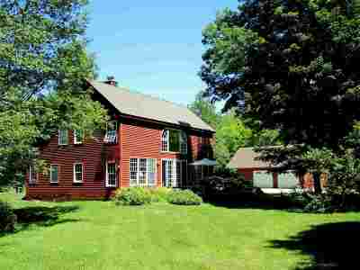 Shrewsbury Single Family Home For Sale: 3773 Upper Cold River Road