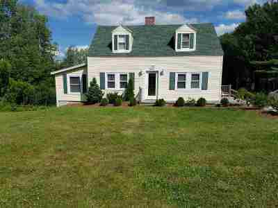 Tilton Single Family Home For Sale: 293 Laconia Road