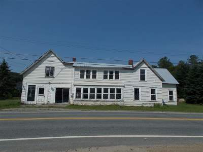 Burke Single Family Home For Sale: 3853 Us Route 5 Road