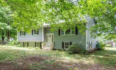 Lee Single Family Home For Sale: 289 Lee Hook Road
