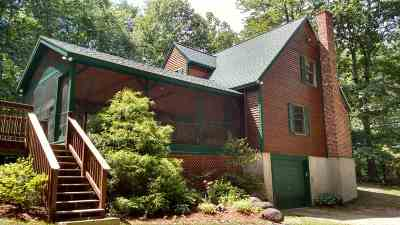 Moultonborough Single Family Home For Sale: 28 Heron Pond Road
