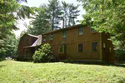 Hillsborough Single Family Home For Sale: 17 Gould Pond Road