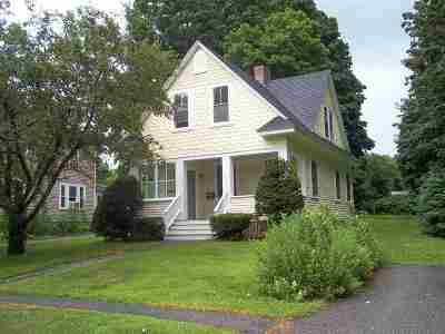 Dover Single Family Home Active Under Contract: 171 Mt. Vernon Street