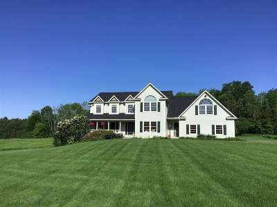 Chittenden County Single Family Home For Sale: 166 Pond Brook Road