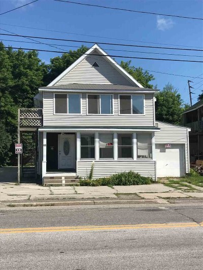 Rutland, Rutland City Multi Family Home Active Under Contract: 301 West Street