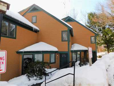 Waterville Valley Condo/Townhouse For Sale: 9 Mountain Sun Way #16, OTP