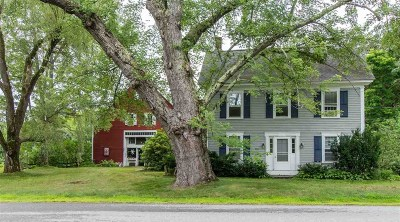 Henniker Single Family Home For Sale: 956 Old Concord Road #MLS#4709