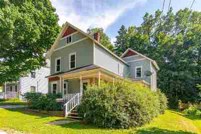 St. Albans City Single Family Home For Sale: 10 Rublee Street
