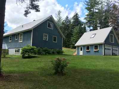 Wolcott VT Single Family Home Sold: $215,000