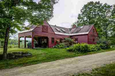 Hillsborough Single Family Home For Sale: 833 Bog Road