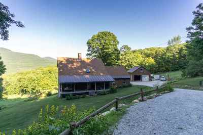Chittenden Single Family Home For Sale: 318 Middle Road
