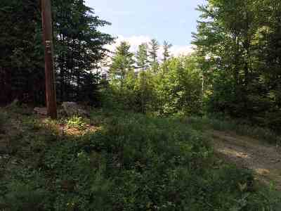 Haverhill NH Residential Lots & Land For Sale: $15,000