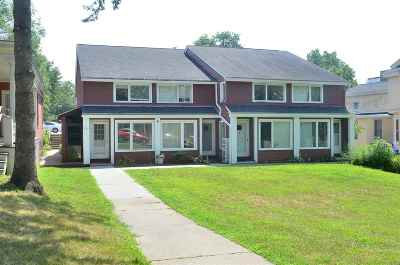Chittenden County Condo/Townhouse For Sale: 297 College Street #5 C