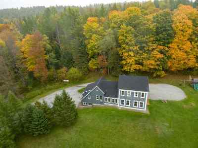 Caledonia County Single Family Home For Sale: 1510 Bayley-Hazen Road