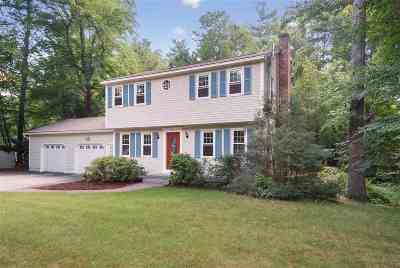 Merrimack Single Family Home Active Under Contract: 6 Four Seasons Lane