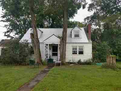 Haverhill NH Single Family Home For Sale: $65,000