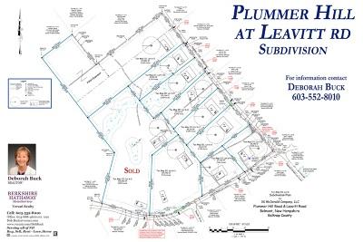 Belmont Residential Lots & Land For Sale: Plummer Hill & Leavitt Road #Map Lot