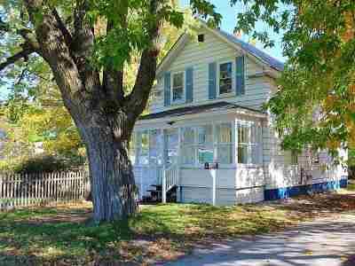 Swanton Single Family Home For Sale: 9 Jewett Street