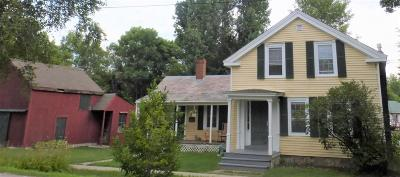 Vergennes Single Family Home For Sale: 14 Panton Road