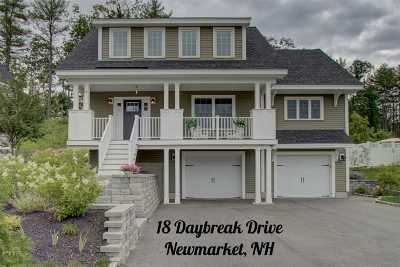 Newmarket Single Family Home For Sale: 18 Daybreak Drive