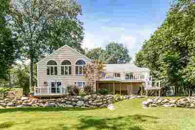 Merrimack Single Family Home Active Under Contract: 74 Island Drive