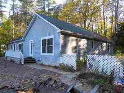 Rumney Single Family Home For Sale: 97 Mountain View Drive