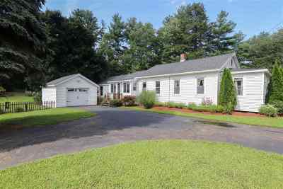 Raymond Single Family Home Active Under Contract: 123 Chester Road