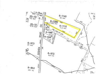Bradford Residential Lots & Land For Sale: Goshen Road