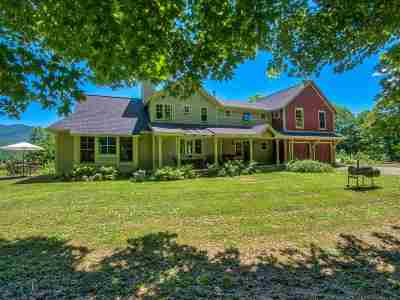 Waterbury Single Family Home For Sale: 154 Apple Hill Rd. Road
