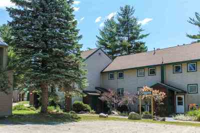 Cambridge Condo/Townhouse For Sale: 26 Creekside 26 At Smugglers Notch Resort