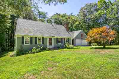 Moultonborough Single Family Home For Sale: 33 Marvin Road