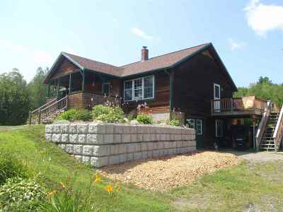Grafton Single Family Home Active Under Contract: 1898 Nh Route 4a