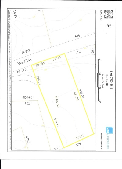 Henniker Residential Lots & Land For Sale: Weare Road #B-1