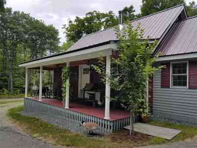 Campton Single Family Home For Sale: 432 Rte 175 Road