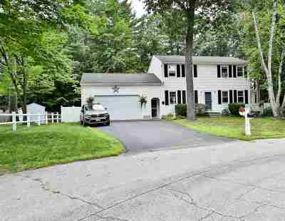 Concord NH Single Family Home Active Under Contract: $299,999