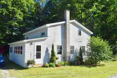 Waterville Single Family Home For Sale: 756 Vt-109 Route