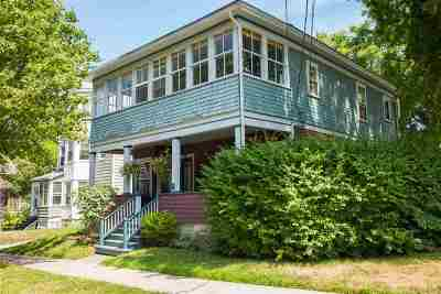 Chittenden County Multi Family Home Active Under Contract: 390 St. Paul Street