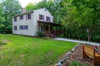 New Boston Single Family Home Active Under Contract: 10 Bunker Hill Road