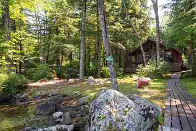 Moultonborough Single Family Home Active Under Contract: 10 Dow Island