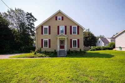 Manchester Single Family Home Active Under Contract: 141 Sewall Street