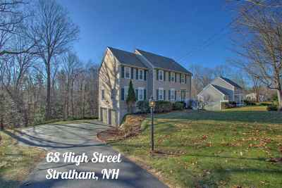 Stratham Single Family Home For Sale: 68 High Street