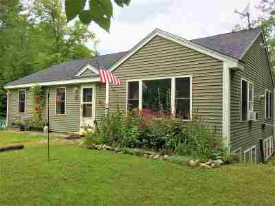 Tuftonboro Single Family Home For Sale: 74 Federal Corner Road