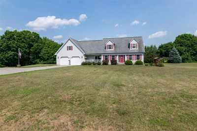 Chittenden County Single Family Home For Sale: 16 Pratt Road